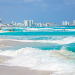 No Seaweed Sargassum Cancun Mexico Winter holidays looks amazing